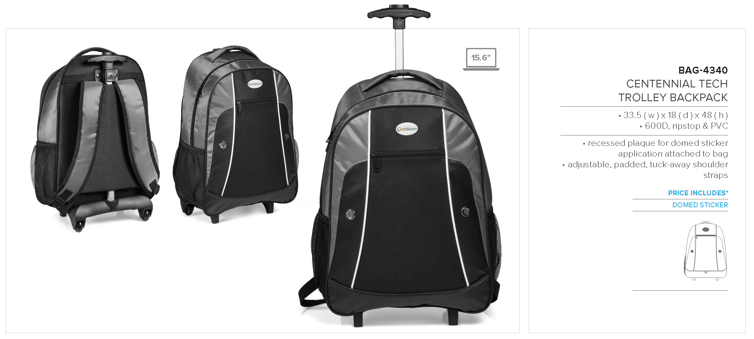 Hand Luggage Trolley Backpack- Fenix Toulouse Handball 7c251ff37d81c
