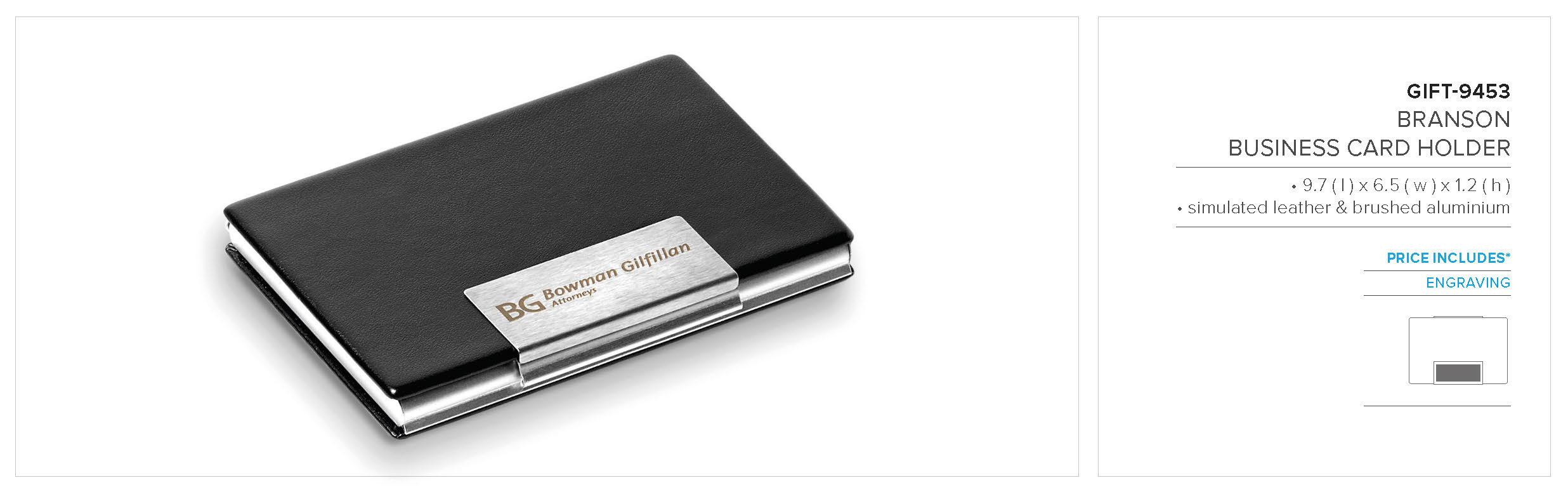 Branson Business Card Holder | GIFT-9453