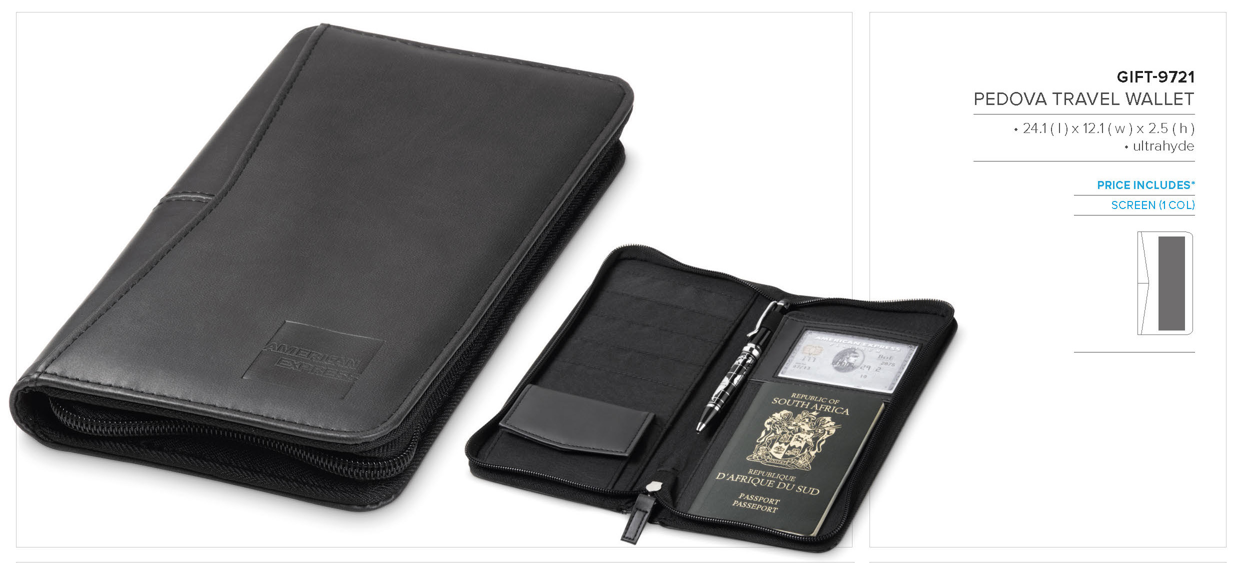 Pedova Travel Wallet GIFT 9721