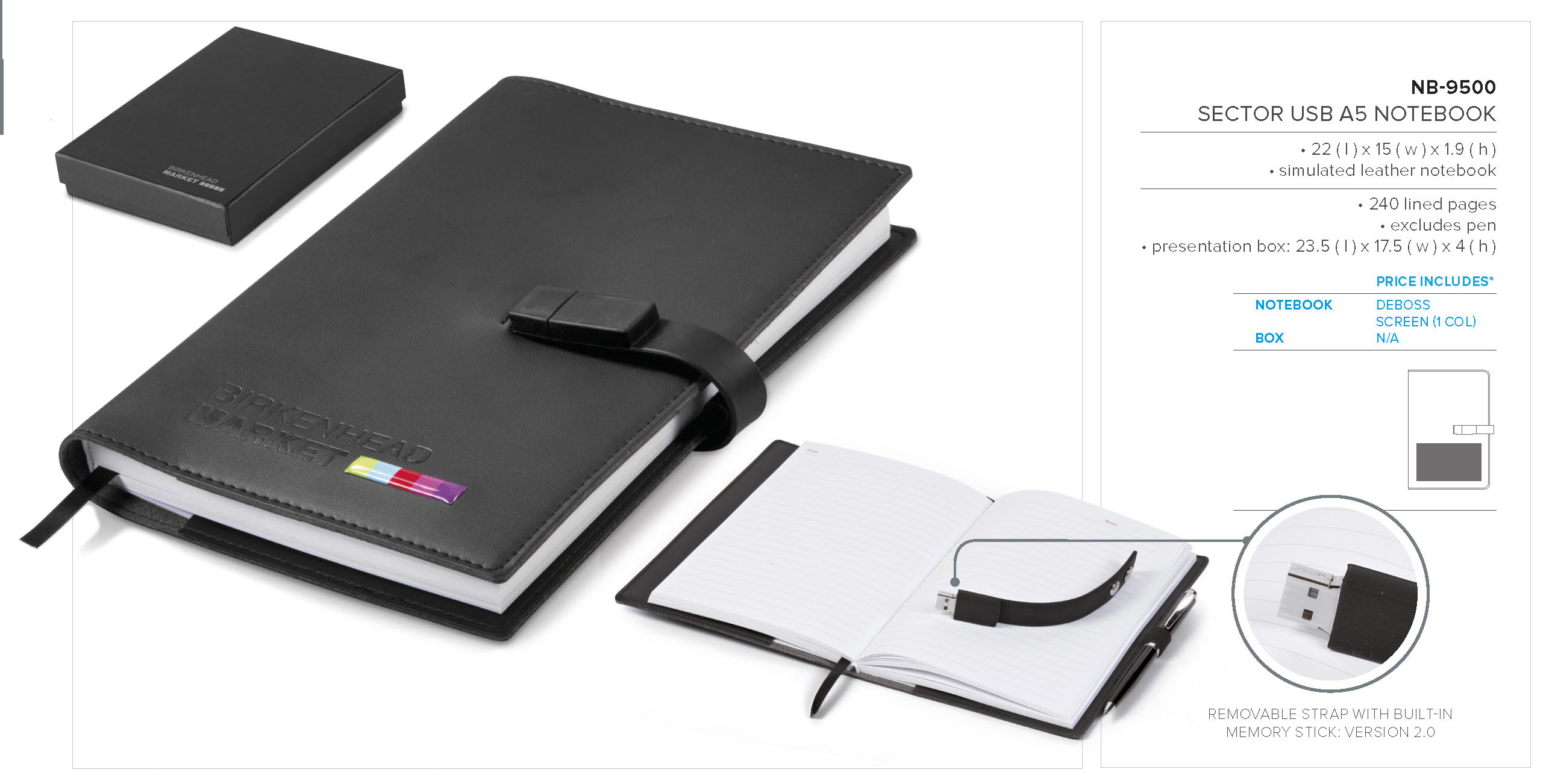 Sector Usb Notebook